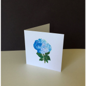 Shades of Blue Hydrangea Gift Enclosure