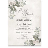 Bridal Shower Invitations Eucalyptus Greenery Brunch Invite