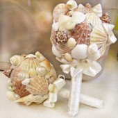 Sea Shell Bridal Bouquet Beach Wedding Bouquet Ocean