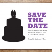 Silhouette Printable Save The Date