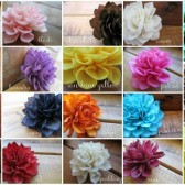 Wooden Flower Place Cards, Assorted Colors