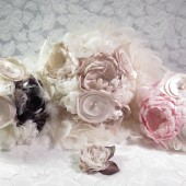 Southern Charm Fabric Flower Bouquet