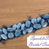 SparkleSM Bridal Sashes - Willa
