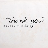 Stamp Your Own Thank You Notes