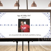 Birthday Guest Book Poster, Birthday Sign, Birthday Poster, Birthday Gift, Guest Book Alternative, Birthday Guest Book