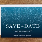 Save the Date Template - Starry Night