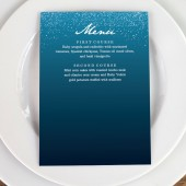 Wedding Menu Template - Starry Night