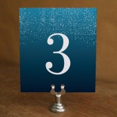 Printable Table Number - Starry Night
