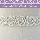 Lyla Bridal Belt Sash