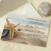 Beach Wedding Save The Date