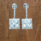 Maxwell Bridal Earrings