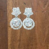 Olivia Wedding Earrings