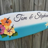 Surfboard Guest book alternative