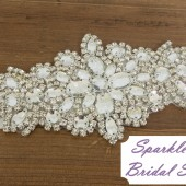 SparkleSM Bridal Sashes - Carly