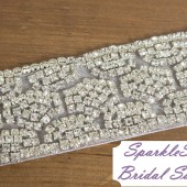 SparkleSM Bridal Sashes - Gracie