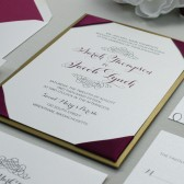 Sweetheart Script Wedding Invitation