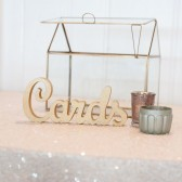 cards sign, card sign, card box, card table, table sign, gold wedding, gold sign, standing letters, wooden letters, glitter wedding, card box sign, rustic wedding, gold wedding