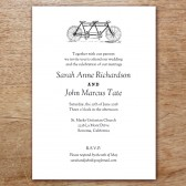 Tandem Printable Wedding Invitation