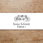 Tandem Printable Place Card