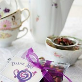 Gourmet loose leaf tea wedding favors
