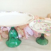 Teal Cake Stand Collection