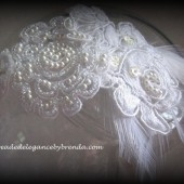 Feathered Bridal Headband
