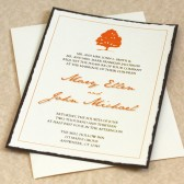 Maple Tree Wedding Invitation