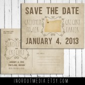 Hipster State Save the Date