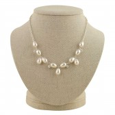 'Vivienne' Pearl and Crystal Necklace