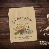 Wildflower Seed Favor Rustic Wedding