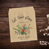 Wildflower Seed Packets Wedding Favor