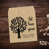 Let Love Grow Tree Wedding Seed Packets