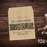 Vintage Wedding Favor Wildflower Seed Packets