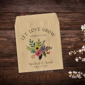 Seed Packet Favor Rustic Wildflower Wedding