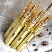 Engraved Brass 50 Caliber Bottle Openers