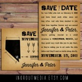 Vintage State Save the Date