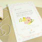 Set of 6 - Will You Be My Bridesmaid Cards