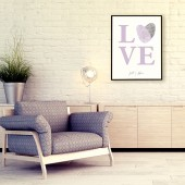Fingerprint Love Poster