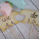 We Do Bear Cake Toppers