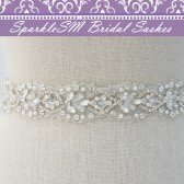 Sylvie Crystal Bridal Belt