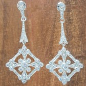 Chloe Bridal Earrings