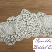 SparkleSM Bridal Sashes - Heather
