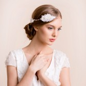 wedding headband, lace headband, bridal headband, lace hair vine, hair vine, bridal hair vine, lace, bridal, wedding, headpiece
