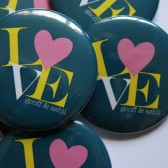 Personalized Wedding Favor Buttons