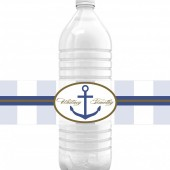 Nautical Cruise Water Bottle Labels