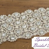 SparkleSM Bridal Sashes - Julia