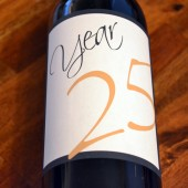Anniversary Wine Label