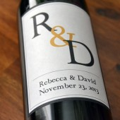 Monogram Wine Labels