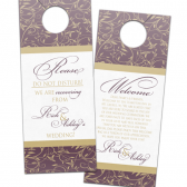 Wispy Flourish Door Hangers
