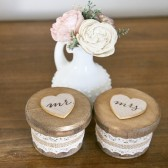 Woodland Collection Round Mr and Mrs Ring Boxes